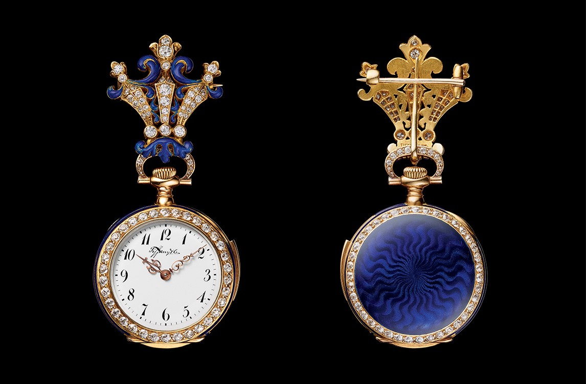 1892. Minute Repeater Miniature Brooch Watch.